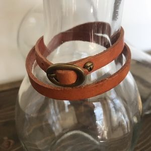 Fossil - Double Wrap Leather Bracelet